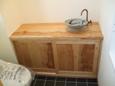 オーダーメイド・トイレ内手洗いカウンター