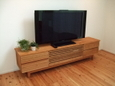 テレビボード/ブラックチェリー