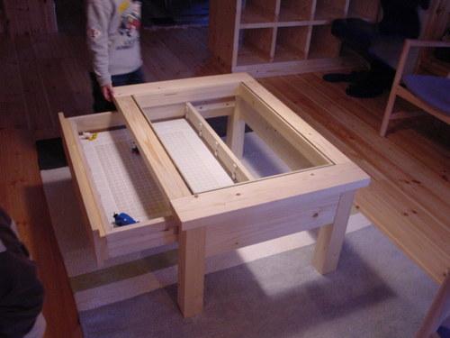 ローテーブル・コレクションテーブル
