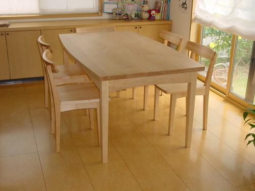 ダイニング・メイプルのテーブル&チェア